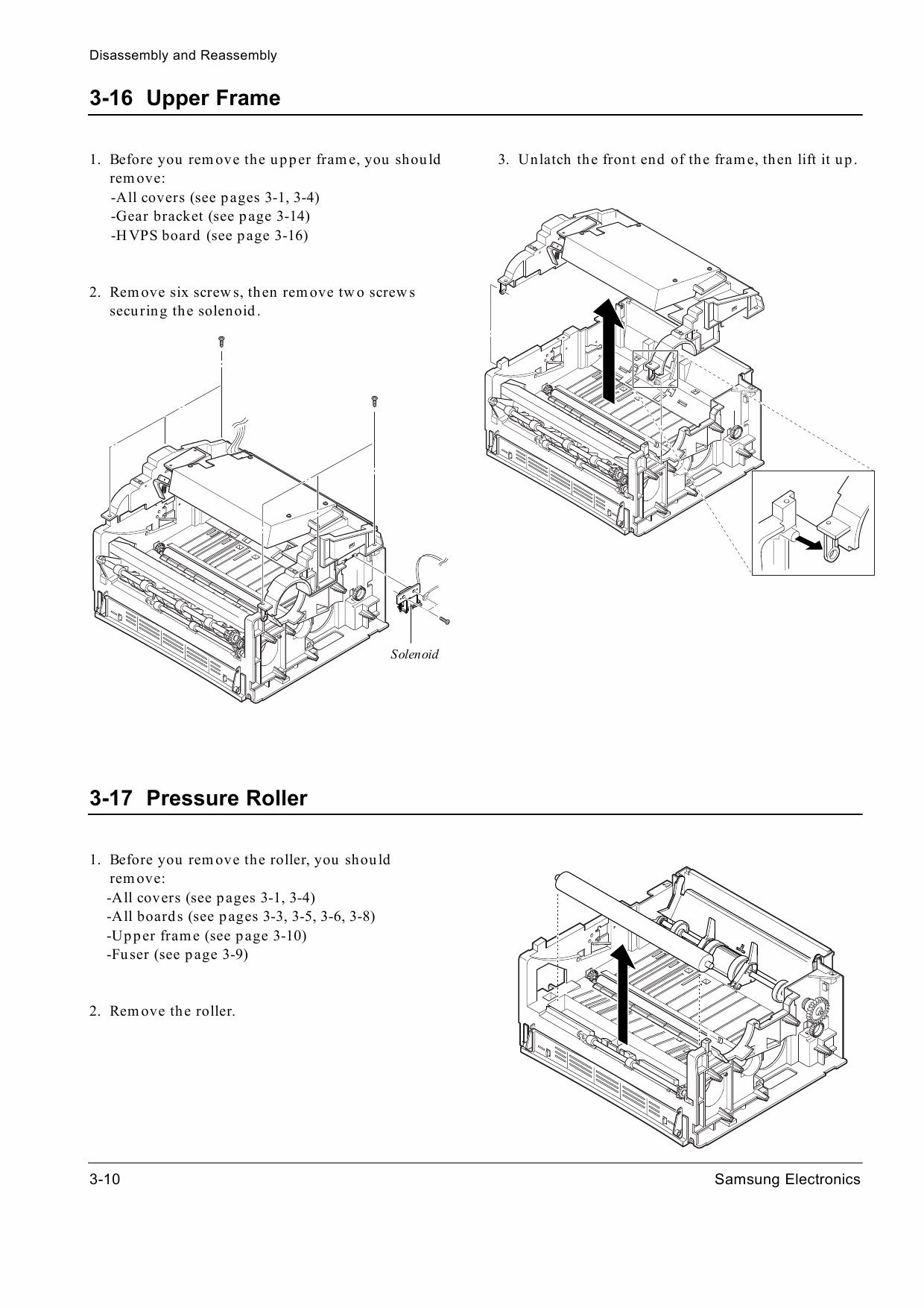 Samsung Laser Printer Ml G Parts And Service